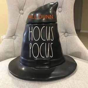 Rae Dunn hocus pocus witch canister